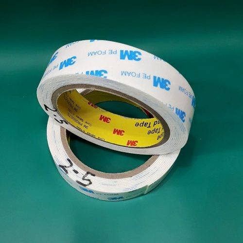 DOUBLE TAPE 3M BUSA 2.5 MM WHITE ORI-70993